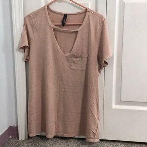 Torrid keyhole T-shirt